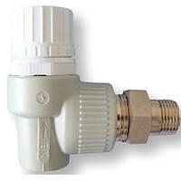 Вентель  Радиаторный термостатический Угловой 20*1/2 Ekoplastik (Wavin)