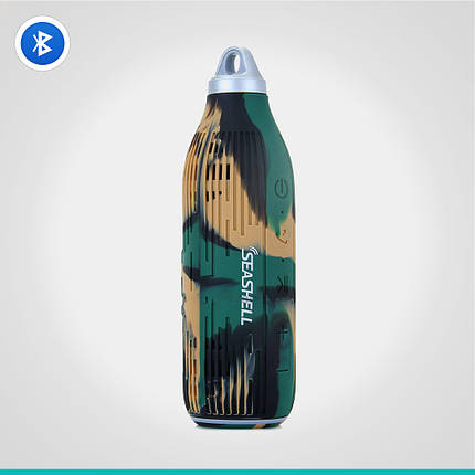 Влагозащищенная портативная колонка Seashell Bottle Stereo speaker, фото 2