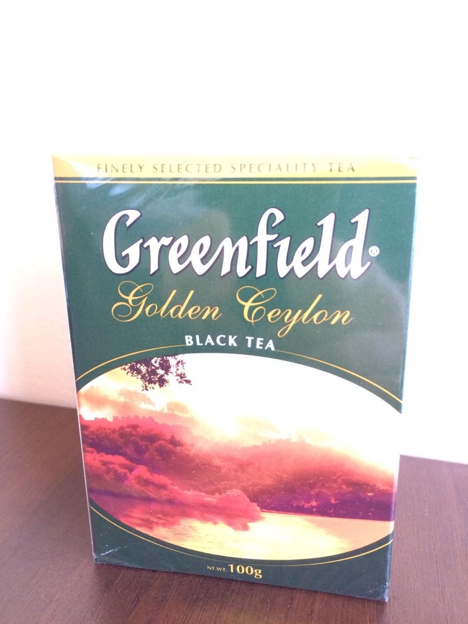 Чай Greenfield Golden Ceylon 100 гр