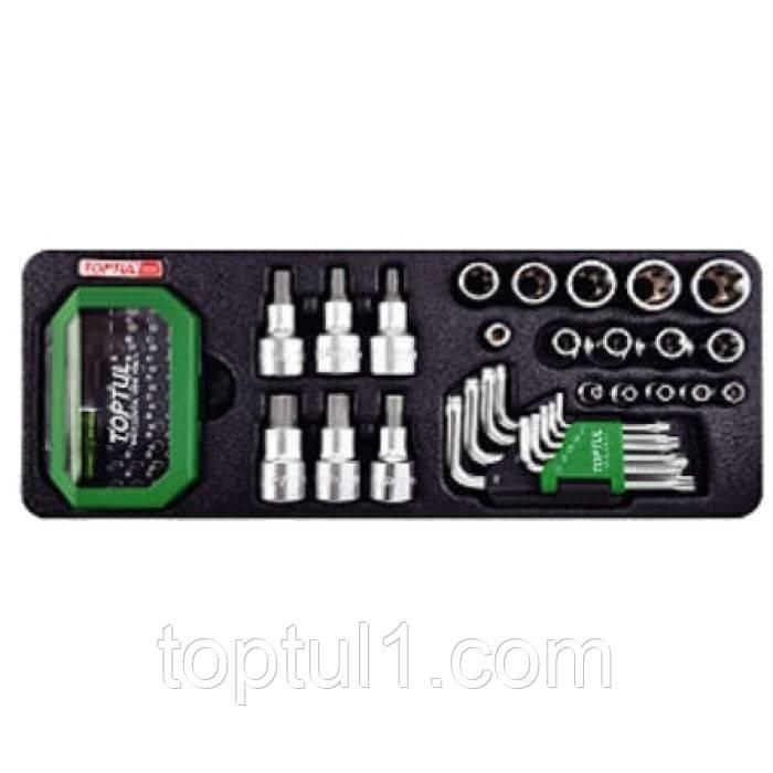Набор инструмента TORX TOPTUL GAAT6502  и бит в ложементе 65 ед.
