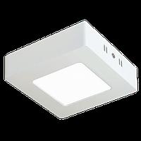 Светильник светодиодный накладной квадрат 12W 4000К
