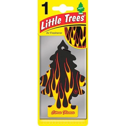 "Ароматизатор воздуха Little Trees ""Цитрусовое пламя"""