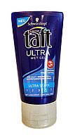Гель для укладки волос Taft Ultra с эффектом мокрых волос сверхсильной фиксации 4 - 150 мл.