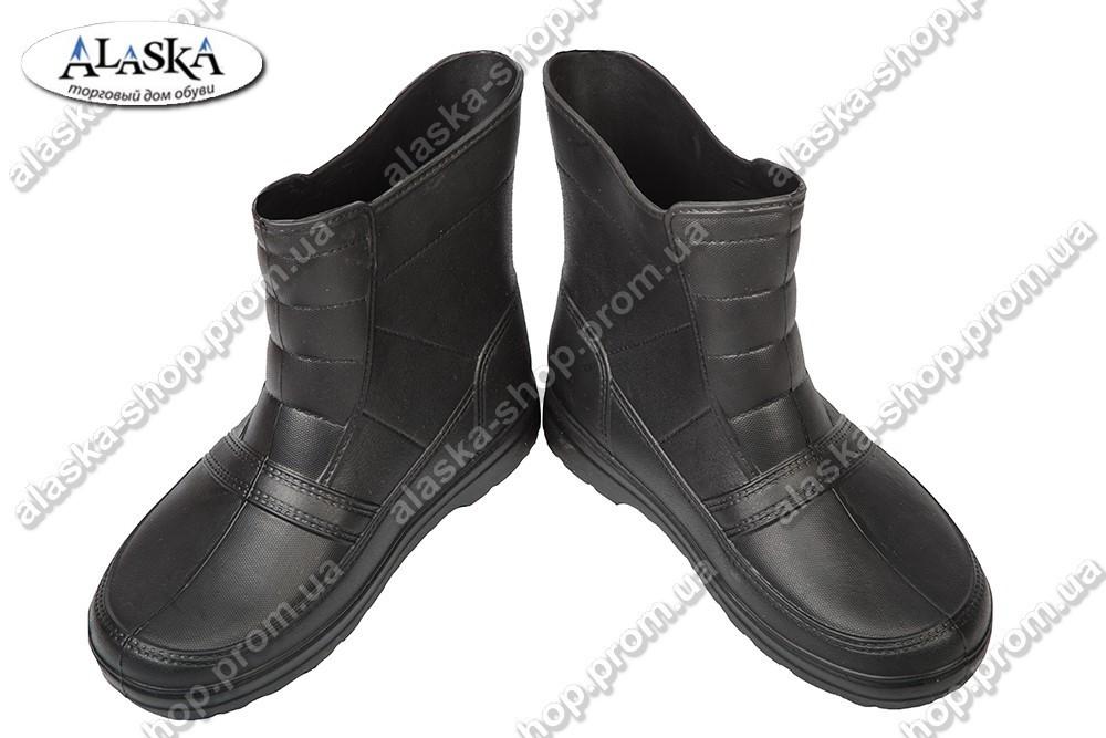Мужские сапоги черные (Код: ГП-05)