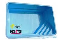 Чаша для бассейна из стекловолокна POOL4YOU Kleo 5,00x3,20x1,55 м