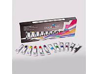 3Д гель краска в тюбике для дизайна ногтей DIAMOND GK-00 поштучно с набора