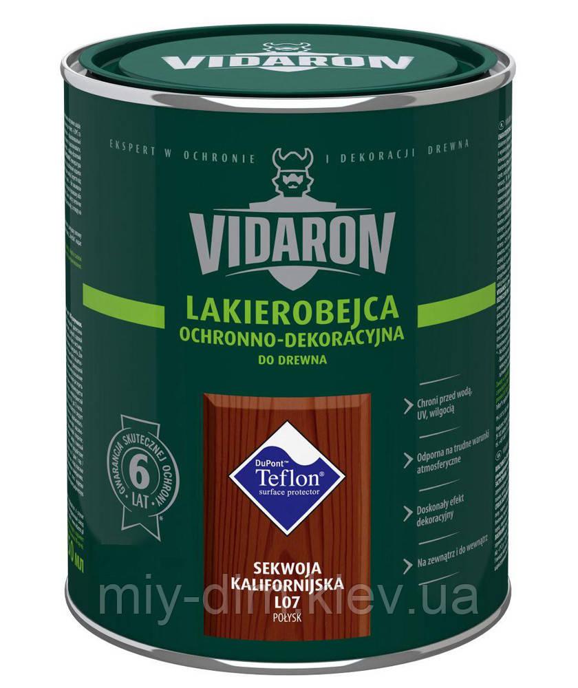 VIDARON лакобейц L11 чорне браз.дерево 0,75л PL