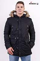 Куртка мужская парка AV-17280 Black Авекс Размеры XL