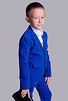 Детский вельветовый костюм с брюками . Цвета 2108 ВЕ