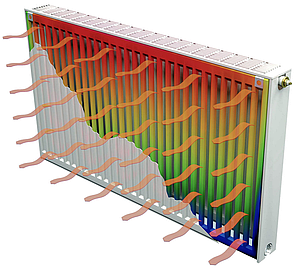Радиатор стальной тип 22 ISI 500 х 1500   2895 Вт. (боковое подключение, Турция), фото 2