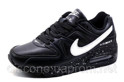 Кроссовки унисекс Найк Air Max, черные с белым