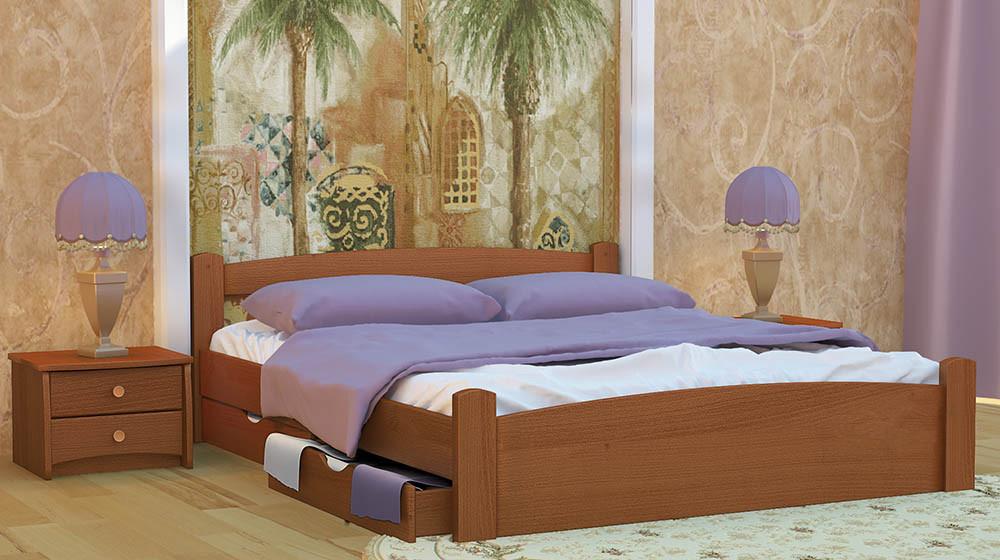 Кровать ЭММА ПЛЮС (двуспальная)