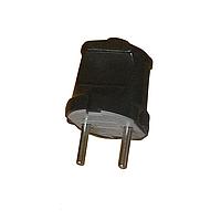 Вилка б/з черная ElectroHouse