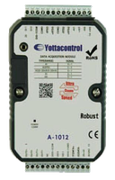 Модуль A-1012, 2AI(0/4-20mA), 2AI(PT100/1000 :-200...+600°C), 2DI, 2AO(0/4-20mA), 2DO(p-n-p)