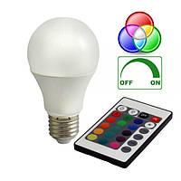 Диммируемая RGB-лампа E27 Bioledex VEO LED 7.5Вт с пультом ДУ