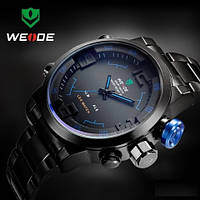 Часы мужские WEIDE Sport Watch (LED) Black/Blue
