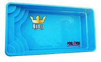 Бассейн  POOL4YOU King 8 (стоимость чаши указана для базовой комплектации бассейна)