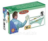 Перчатки для ректального исследование с защитой плеча