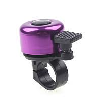 Звонок для велосипеда (велозвонок) Фиолетовый