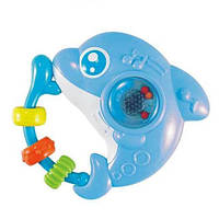 Погремушка музыкальная Baby Mix PL-380040 Дельфин