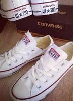 Кеды Converse белые низкие Адаптивная, Вьетнам или Китай, 34
