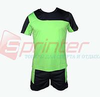 Форма футбольная детская салатовая S КЕ-001