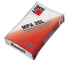 Штукатурка цементная BAUMIT MPA 35 L  теплоизоляционная, 25кг