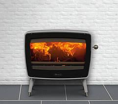 Печь камин чугунная DOVRE Vintage 50 светло-серая, фото 3