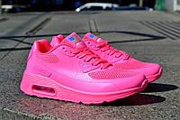 Женские кроссовки Nike Air Max 90 Huperfuse розовые