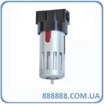 """Фильтр очистки воздуха в металле, 1/2"""" PT-1401 Intertool"""