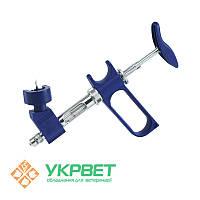 Ветеринарный шприц Socorex с держателем флакона, 1,0 мл