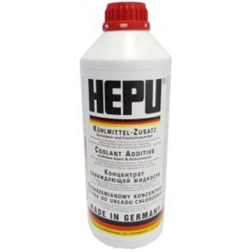 HEPU Антифриз для системы охлаждения (красный G 12) 1.5 л