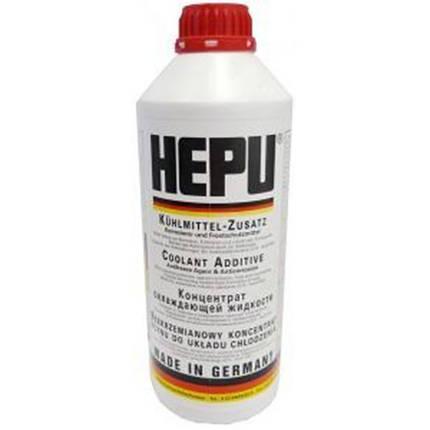 HEPU Антифриз для системы охлаждения (красный G 12) 1.5 л, фото 2