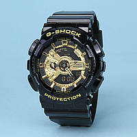 Часы водонепроницаемые Casio G-Shock GA-110 Black Gold AAA