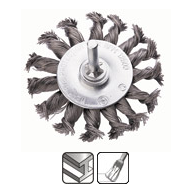 Щетка круглая Бригадир Standart Щ 1501 75х6 мм (22-050)