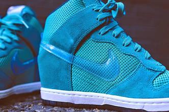 Женские оригинальные сникерсы Nike Dunk АТ-264