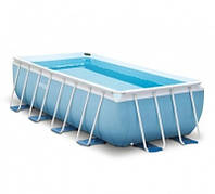 Каркасный бассейн INTEX 28318 Prism Frame Pool 488Х244Х107см 10874 л