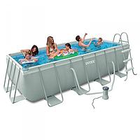 Каркасный бассейн INTEX 28314 Prism Frame Pool 300x175x80см 3539 л