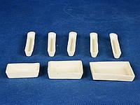 Лодочка прямоугольная керамическая лабораторная ЛС, ЛЗ, фото 1