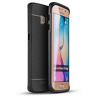 Противоударный бампер iPaky для Samsung S6 Edge (G925F / G9250) Black, фото 1