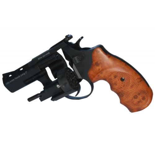 Револьвер под патрон Флобера STREAMER R2 (с коричневой ручкой)