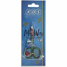 KDS Ножницы 01-3252 ногтевые загнутые Color Mix 22мм, фото 3