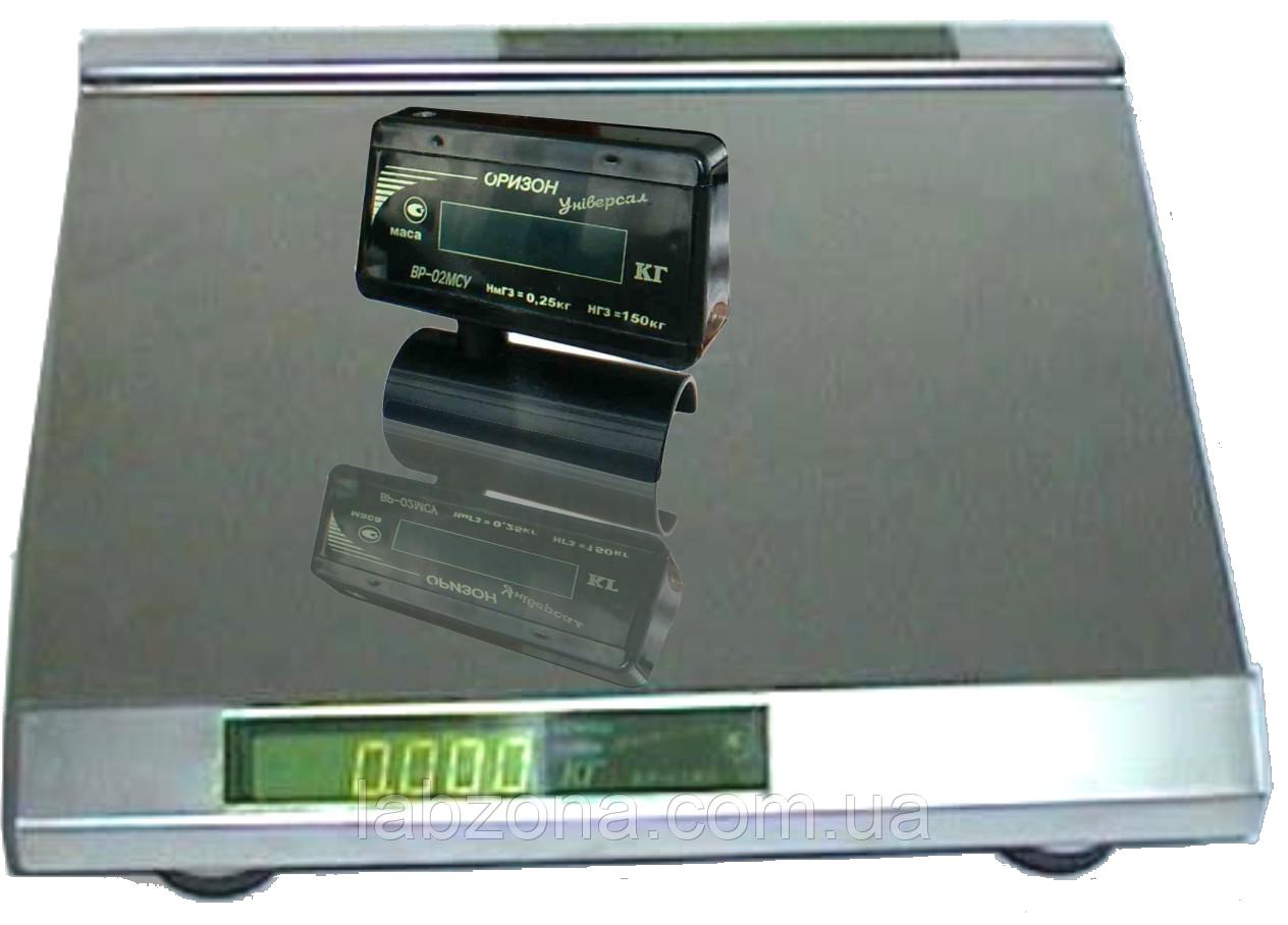 Весы настольные ВР-02 МСУ на 6,15,30,60 кг  Оризон Универсал