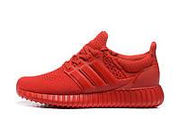 Женские кроссовки Adidas Yeezy Ultra Boost (Red)  , фото 1