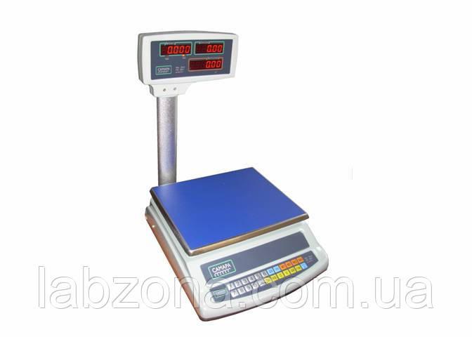 Весы торговые ВТЕ-Центровес-15-Т2-СМ