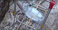 Гидроэлектрогенетатор и пластиковые тарелки для производства энергии