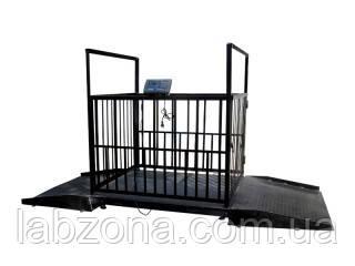 Весы для взвешивания животных ВЕСТ-1500