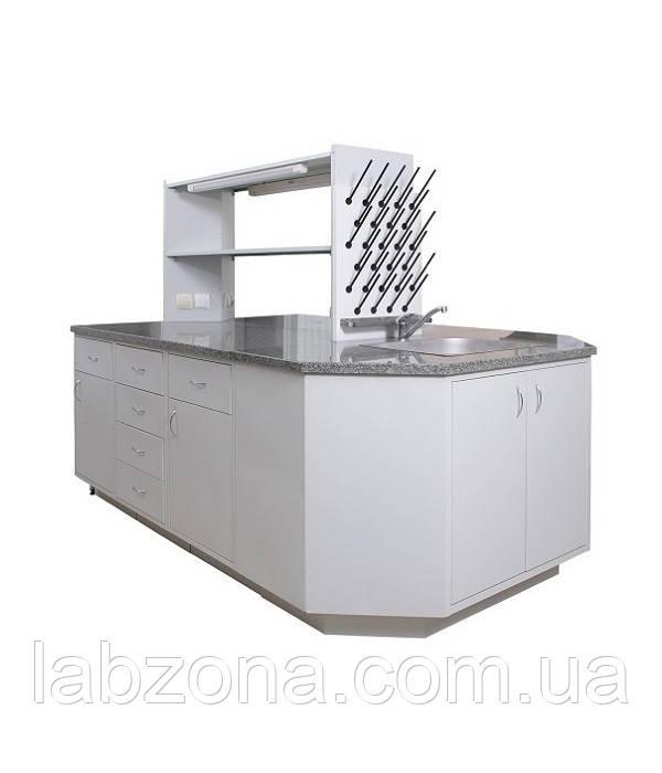 Стол островной лабораторный - LabZona - лабораторные приборы, весы и гири, измерительный инструмент в Харькове