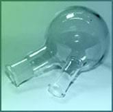 Колба круглодонная стеклянная с 2-мя и 3мя горловинами