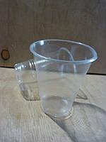 Стакан одноразовый пластиковый 180 мл прозрачный